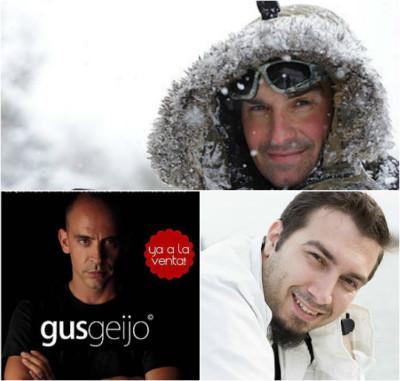 Gus Geijo, Julian Marinov eta Antonio Liébana