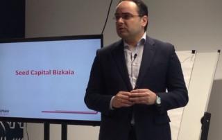 Oscar Ugarte, director de Seed Capital Bizkaia